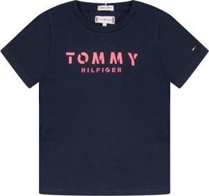 Granatowa koszulka dziecięca Tommy Hilfiger