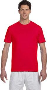 Czerwony t-shirt Champion Apparel z krótkim rękawem