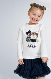 Bluzka dziecięca Mayoral dla dziewczynek z bawełny