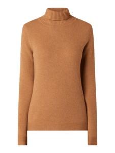 Brązowy sweter Christian Berg Women w stylu casual z wełny