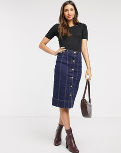 Spódnica Brave Soul z jeansu