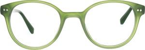 Zielone okulary damskie Moretti