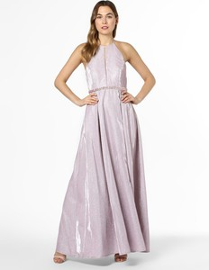 Różowa sukienka SUDDENLY Princess maxi rozkloszowana bez rękawów