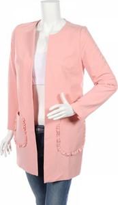 Różowy płaszcz Nife