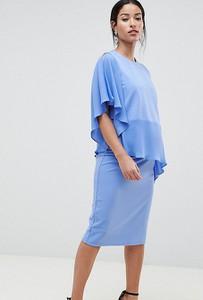 Sukienka Asos Maternity - Nursing z długim rękawem
