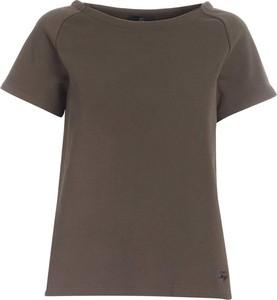 T-shirt Fay z krótkim rękawem z okrągłym dekoltem