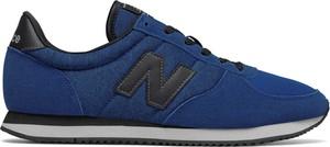 Granatowe buty sportowe New Balance sznurowane