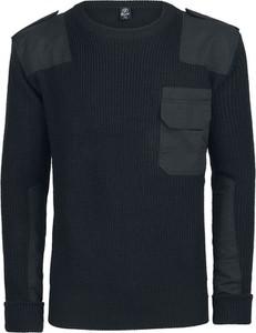 Czarny sweter Brandit