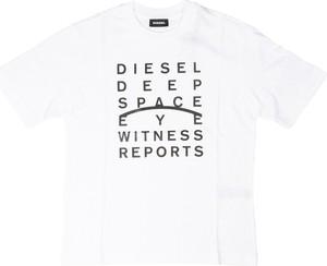 Koszulka dziecięca Diesel z bawełny z krótkim rękawem