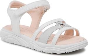 Buty dziecięce letnie Geox z zamszu