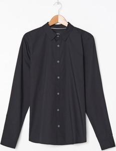 Czarna koszula House w stylu casual
