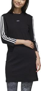 Sukienka Adidas w sportowym stylu mini z bawełny