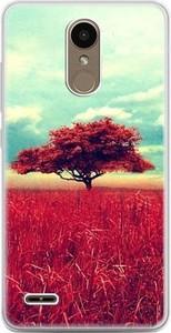 Etuistudio Etui na telefon LG K10 2017 - czerwone drzewo