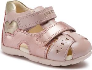 Buty dziecięce letnie Geox na rzepy