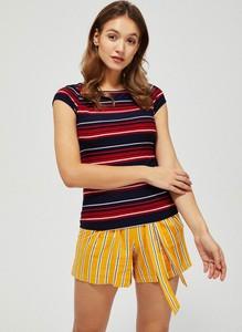 T-shirt Moodo w stylu casual z krótkim rękawem