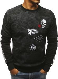 Czarna bluza Dstreet w street stylu z bawełny