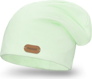 Zielona czapka PaMaMi
