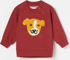 Czerwona bluza dziecięca Reserved dla dziewczynek