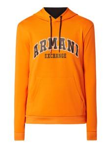 Pomarańczowa bluza Armani Exchange z bawełny