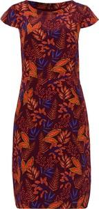 Sukienka More & More prosta z krótkim rękawem