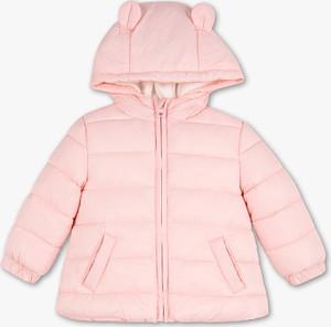 Różowa kurtka dziecięca Baby Club dla dziewczynek