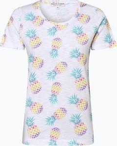 T-shirt Marie Lund z krótkim rękawem w stylu casual z okrągłym dekoltem