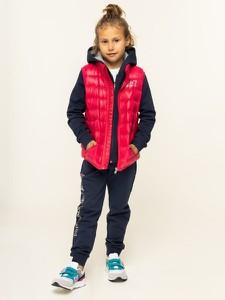 Różowa kamizelka dziecięca EA7 Emporio Armani