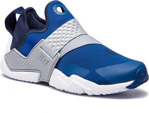 Niebieskie buty sportowe Nike z płaską podeszwą w sportowym stylu