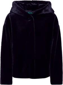 Granatowy płaszcz United Colors Of Benetton