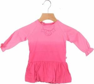 Różowa sukienka dziewczęca Noppies
