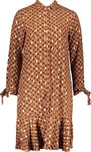 Sukienka Ella Paris mini z długim rękawem