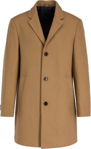 Brązowy płaszcz męski Pierre Cardin