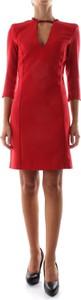 Czerwona sukienka Pinko mini