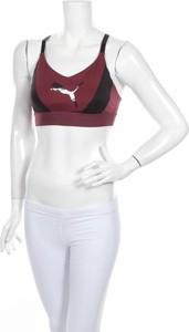 Czerwony top Puma w sportowym stylu