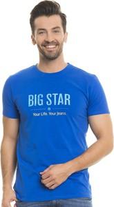 Niebieski t-shirt Big Star