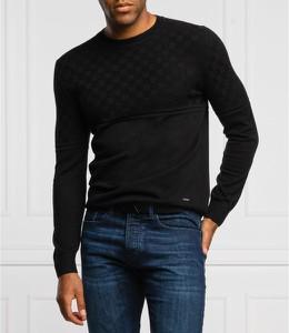 Czarny sweter Joop! w stylu casual z wełny