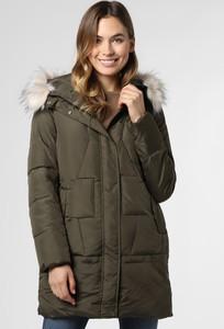 Zielony płaszcz Marie Lund w stylu casual