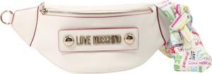Saszetka Love Moschino ze skóry