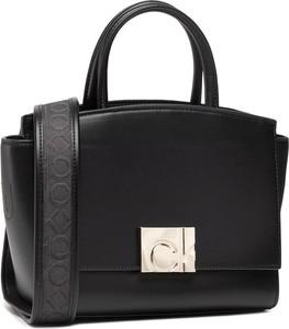Czarna torebka Calvin Klein ze skóry