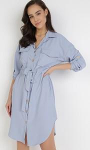 Sukienka born2be koszulowa mini w stylu casual
