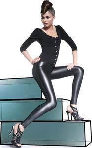 Czarne legginsy BasBleu