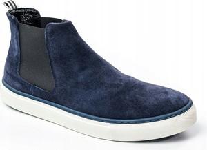 Niebieskie buty zimowe Rovicky