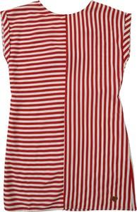 Czerwona sukienka dziewczęca Pepe Jeans