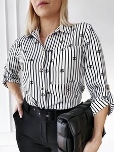 Koszula Perfe.pl w stylu casual z kołnierzykiem