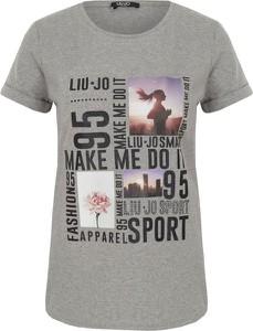 T-shirt Liu Jo Sport z krótkim rękawem w street stylu