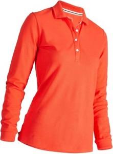 Inesis Koszulka polo do golfa czerwon
