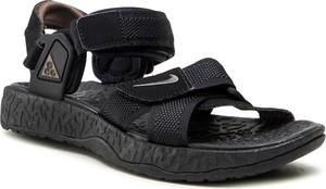 Czarne sandały Nike w stylu casual