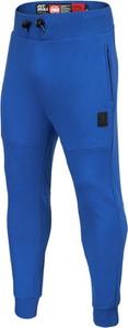 Niebieskie spodnie sportowe Pit Bull