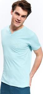 Turkusowy t-shirt Top Secret
