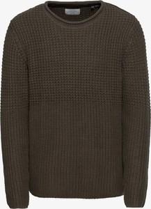 Brązowy sweter Jack & Jones z dzianiny